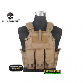 EMERSON PLATE CARRIER 6094K LBT TYPE CORDURA Coyote brown 500d