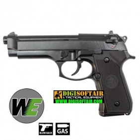 Beretta M92 nera FULL METAL WE gbb