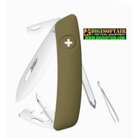 SWIZA D04 olive coltello svizzero multiuso