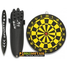 set 3 Albainox 32060 throwing knives