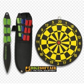 set 3 Albainox 32212 throwing knives