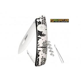 SWIZA D01 heidiland white swiss knife