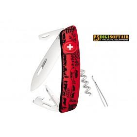 SWIZA D01 heidiland red swiss knife
