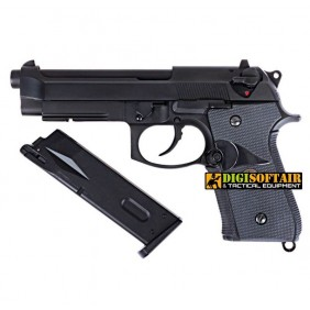 Beretta M9A1 black FULL METAL WE gbb