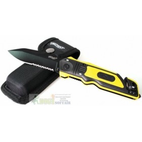 Rescue Knife Black Walther