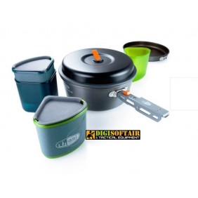 set cucina per 2 persone GSI backpacker