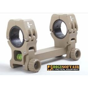 DRAGONFLY SUPPORT OPTICS WITH RINGS FROM 25 TO 30 MM desert ALLEGER