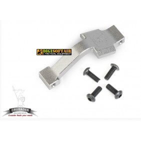 EXTENDED TRIGGER GUARD M4 silver crusader by vfc