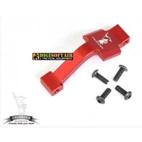 EXTENDED TRIGGER GUARD M4 rosso crusader by vfc