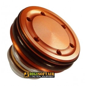 fps Ergal plunger piston head with double or (TPGE)