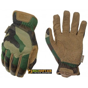 Fast Fit Woodland Mechanix Gloves