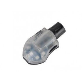 ELEMENT MANTA STROBE NERO led BLU