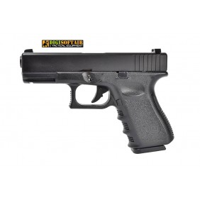 Evolution Glock 23 G23 gas blowback metal slide