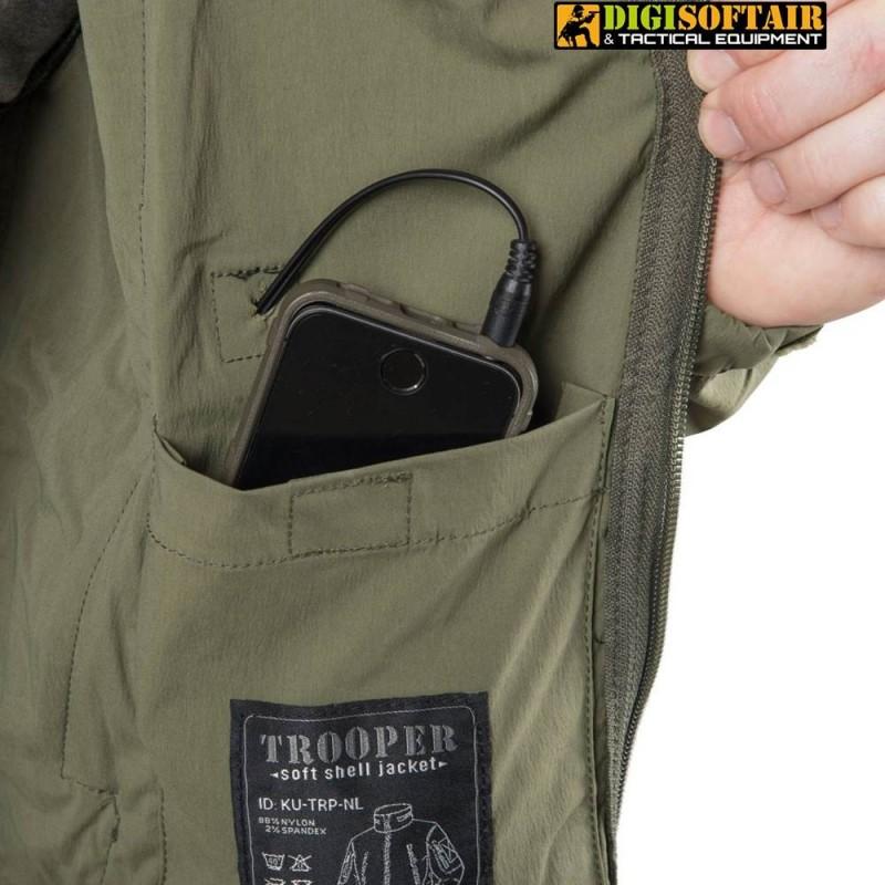 Helikon Trooper Jacket Soft Shell COYOTE